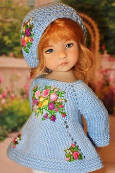 (68) Одноклассники Knitted Doll Patterns, Knitted Dolls, Pretty Little Girls, Cute Girls, Knitting Dolls Clothes, Doll Clothes, Decorated Wine Glasses, Cute Girl Wallpaper, Glitter Girl