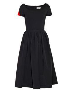 Tara bi-colour ted-satin dress   Preen By Thornton Bregazzi   MATCHESFASHION.COM US
