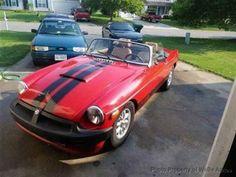 $15,995 1979 Red MGB V8 Conversion