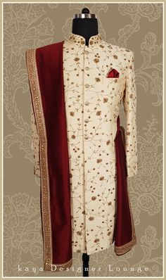 Whatsapp Email : nivetasfashion Book ur wedding outfits , Completely stitched Customised according to your requirements. The Effective Pictures We Offe Mens Wedding Wear Indian, Sherwani For Men Wedding, Mens Indian Wear, Wedding Dresses Men Indian, Groom Wedding Dress, Sherwani Groom, Indian Men Fashion, Wedding Suits, Groom Fashion