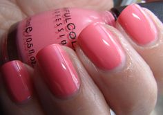 """Julep """"Brooke"""" and Sinful Colors """"Island Coral"""" Nail Polish (Pictures) Coral Nail Polish, Coral Nails, Hair And Nails, My Nails, Sinful Colors, Nail Polish Collection, Coral Color, Nails Inspiration, Beauty Hacks"""