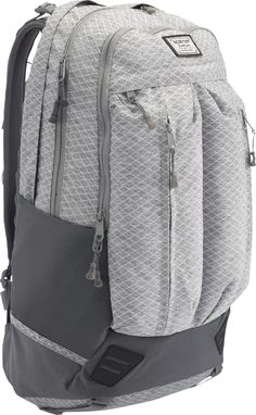 Burton Backpack Bravo grey heather diamond ripstop