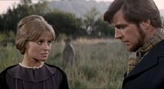 """Julie Christie & Alan Bates in, """"Far From the Madding Crowd"""""""