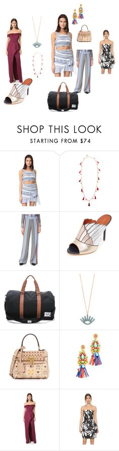"""""""Different style"""" by jamuna-kaalla on Polyvore featuring Dodo Bar Or, Rosantica, 10 Crosby Derek Lam, Malone Souliers, Herschel Supply Co., Shashi, MCM, Mochi, Black Halo and KaufmanFranco"""