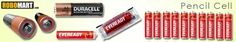 Robomart India - The online megastore for pencil cell batteries, power batteries and more at unbeleivable prices.