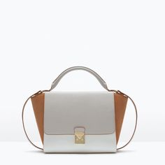 Zara bags are the perfect payday treat, and we've made an edit of some of our favourite styles. Fashion Handbags, White Purses, White Bags, Zara Bags, Zara New, Best Bags, City Bag, Summer Bags, Women's Handbags