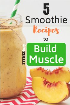 5 smoothie recipes to build muscle protein smoothie gain muscle bulking healthy smoothie healthy recipe easy smoothie Protein Shakes, Protein Shake Recipes, Easy Smoothie Recipes, Easy Smoothies, Fruit Smoothies, Healthy Recipes, Healthy Shakes, Healthy Meals, Juicer Recipes