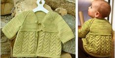 Add this lovely Helena knitted sweater dress to your wee one's wardrobe. It is guaranteed to make your cutie look even more irresistibly . Baby Knitting Free, Knitting For Kids, Baby Knitting Patterns, Baby Patterns, Crochet Patterns, Learn How To Knit, How To Start Knitting, Knitting Videos, Knitting Projects