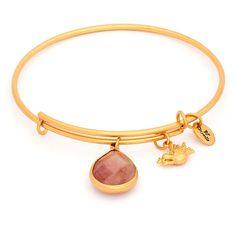 Bransoletka CHRYSALIS Pink Tourmaline Quartz October Gold CRBT2110GP