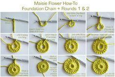 Maisie Flower How-To | Annie's Place | Bloglovin'
