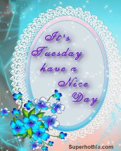 It's Tuesday, Have A Nice Day day gif tuesday tuesday quotes tuesday images tuesday quote images
