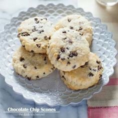 Chocolate Chip Scones!!