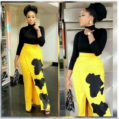 The most popular african clothing styles for women… African Prom Dresses, African Dresses For Women, African Attire, African Wear, African Fashion Dresses, Fashion Outfits, Fashion 2018, Ankara Fashion, Swag Outfits