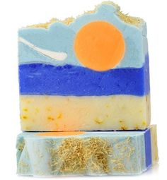 Finchberry Handcrafted Soap - Tropical Sunshine Slice