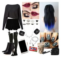 """""""#39"""" by nicolorido ❤ liked on Polyvore featuring Crea Concept, Chicnova Fashion, Samsung, Replay, Urban Decay and MAC Cosmetics"""