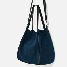 Image 6 of LEATHER TOTE from Zara