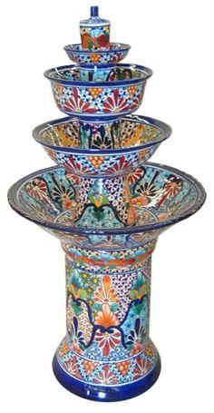Beautiful Mexican Talavera (pottery)