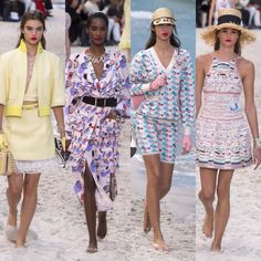 Chanel – Ready to Wear – Passarelando Fashion Week 2018, Chanel, Ready To Wear, Kimono Top, Cover Up, Spring, How To Wear, Dresses, Cruise