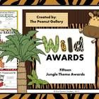 Melissa this Is for you! $2.50 Fifteen colorful jungle theme awards are included.
