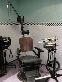 50's dentistry set. Oh, how times have changed!  http://www.portwooddental.com