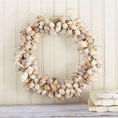 Spiral Shells Wreath