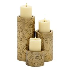 Shop Woodland Imports  24121 Too Beautiful Metal Candle Holders (set of 3) at ATG Stores. Browse our candle holders, all with free shipping and best price guaranteed.