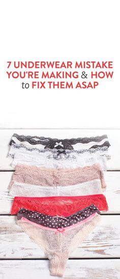 7 Underwear Mistake