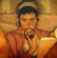 O cão que comeu o livro...: 5 leitoras de Joseph Lorusso / 5 women reading by ...