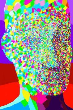 Traces of time. iPhone painting. Magnus Sjöberg. 2012.
