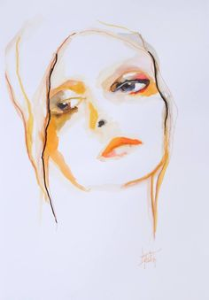 "Saatchi Art Artist Anna Matykiewicz; Painting, ""Palette no 3"" #art"