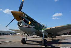 Aviation - Aircraft Photo - P-40 Warkhawk http://www.FunPlacesToFly.com