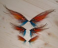 Den vanlige - the usual. A must have Salmon fly for northern Sweden.