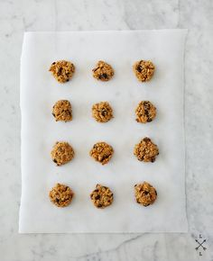 Carrot, Oat, and Cranberry Cookies