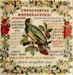 Needleprint France: Flea le 22 juillet 1866 ?