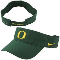 84a5ca9400c Nike Oregon Ducks Dri-FIT Stadium Adjustable Performance Visor - Green  Oregon Ducks Hat