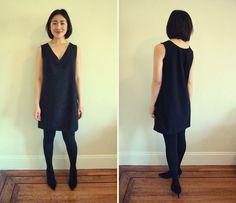 Free-sewing-pattern-shift-dress-v-neck