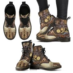 Gears & Straps Boots