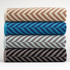 Apt. 9® Plush Herringbone Bath Towels