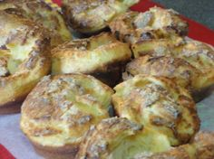 Nun's Puffs.  'Halfway between a muffin and a popover, these are a nice little change of pace for breakfast.'