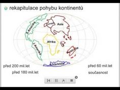 Vznik kontinentů - YouTube