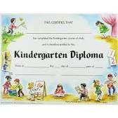 Risultati immagini per diploma ideas kindergarten