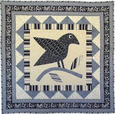 """""""Blackbird, Fly"""" pattern by Nancy Rink"""