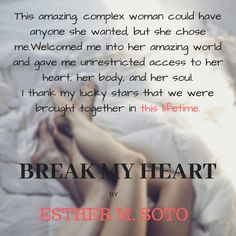 Break My Heart ( book The Heart Series) Give It To Me, Bring It On, Lucky Star, My Heart Is Breaking, Choose Me, Thats Not My, Books, Libros, Book
