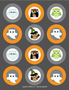 My Owl Barn: Free Halloween Printables