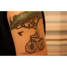 rad tree bike tat