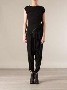 Lost And Found Asymmetric Panel Top