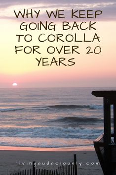 Why should you visit Corolla in OBX? From the beach to shopping, great restaurants and plenty of other things to do, you won't regret traveling to North Carolina for this vacation! Beach Vacation Spots, Outer Banks Vacation, Beach Trip, Beach Vacations, Beach Fun, Dream Vacations, Vacation Ideas, Corolla North Carolina, North Carolina Vacations
