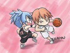 Nagisa and Asanoof  assassination classroom- Kuroko no Basket crossover