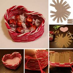 heart shaped diy ide