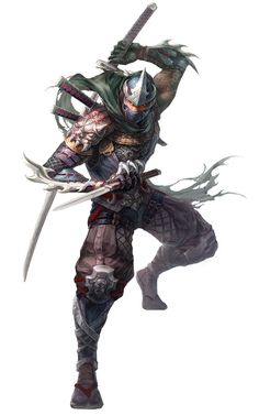 Male Ninja from Conquer Online